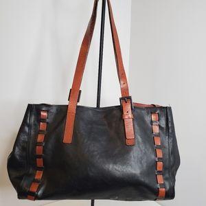 Falor Le Boise Black Leather Purse